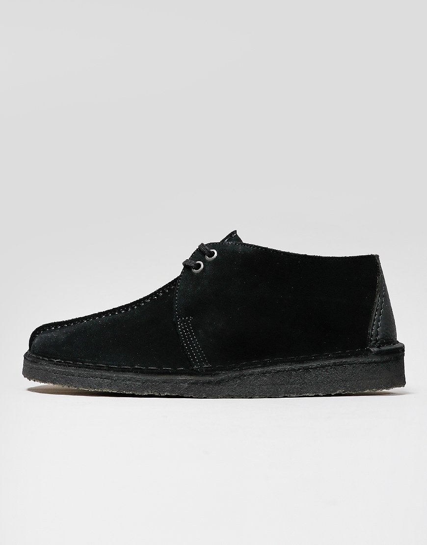 Clarks Originals Desert Trek Boots Black