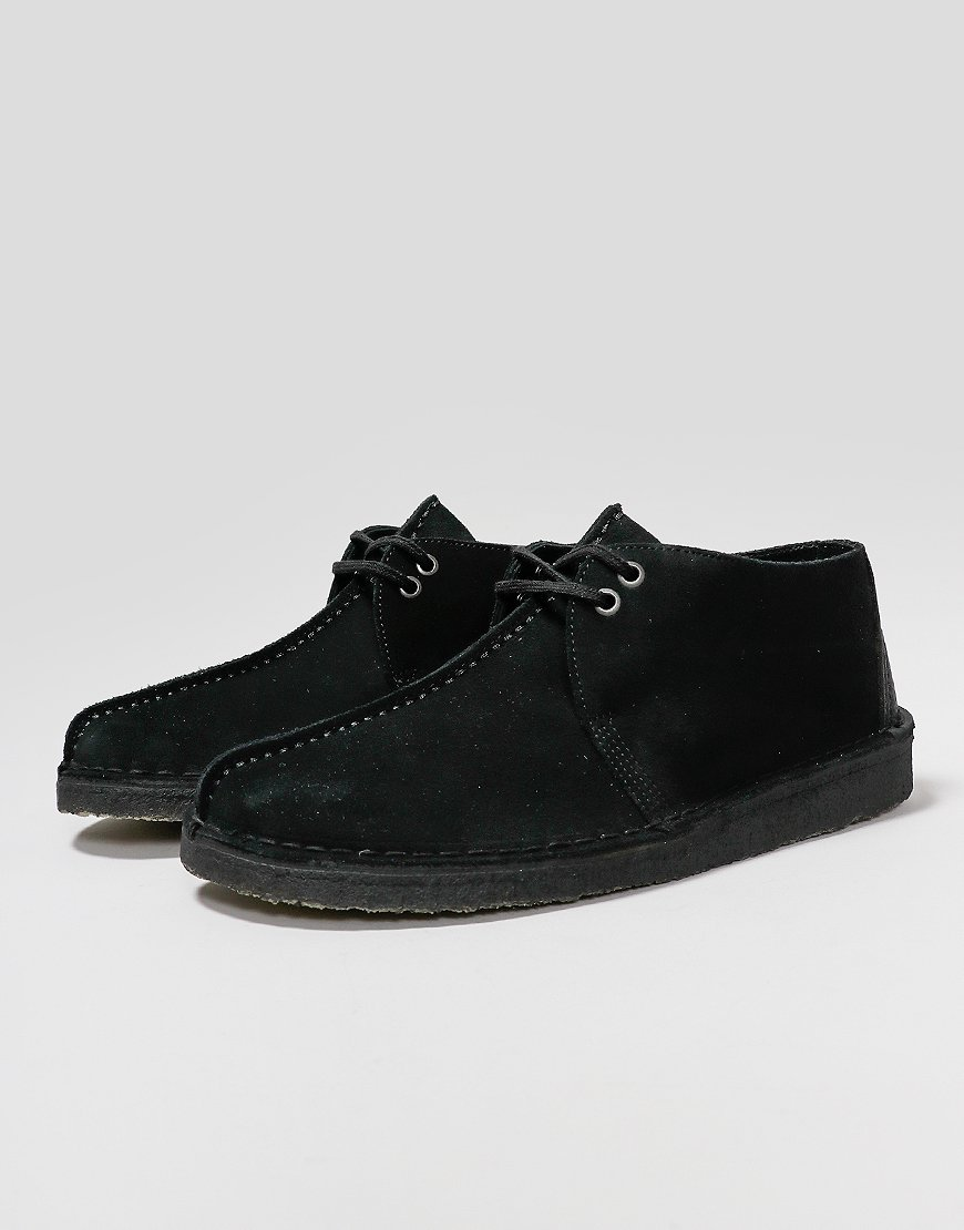 Clarks Originals Desert Trek Shoes Black