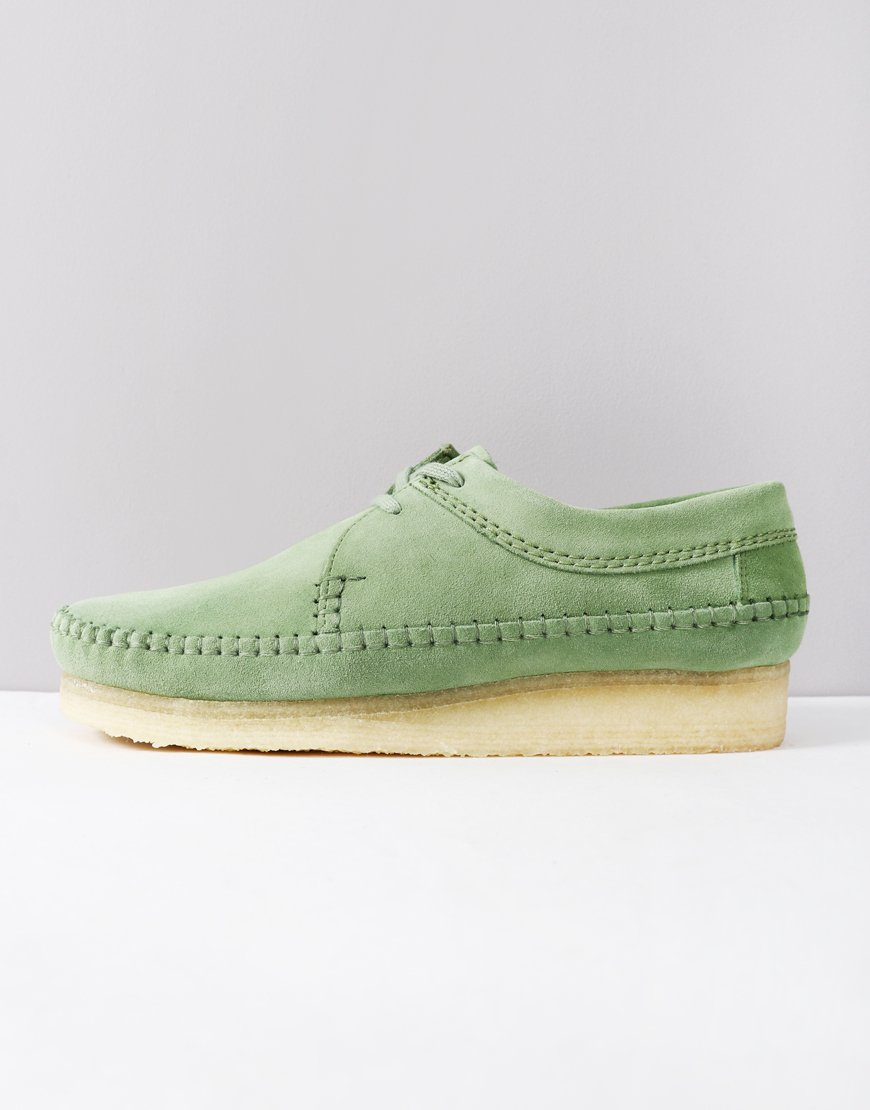 Clarks Originals Weaver Shoe Cactus Green