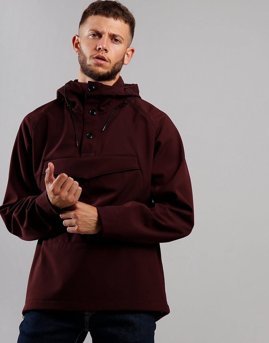 C.P. Company Shell Pullover Goggle Jacket Bitter Chocolate