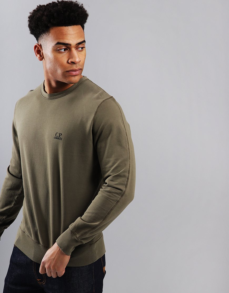 C.P. Company Lightweight Crew Sweat Beech