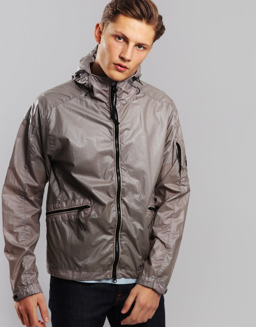 7376bc3c C.P. Company Coated Waterproof Jacket Brindle Grey