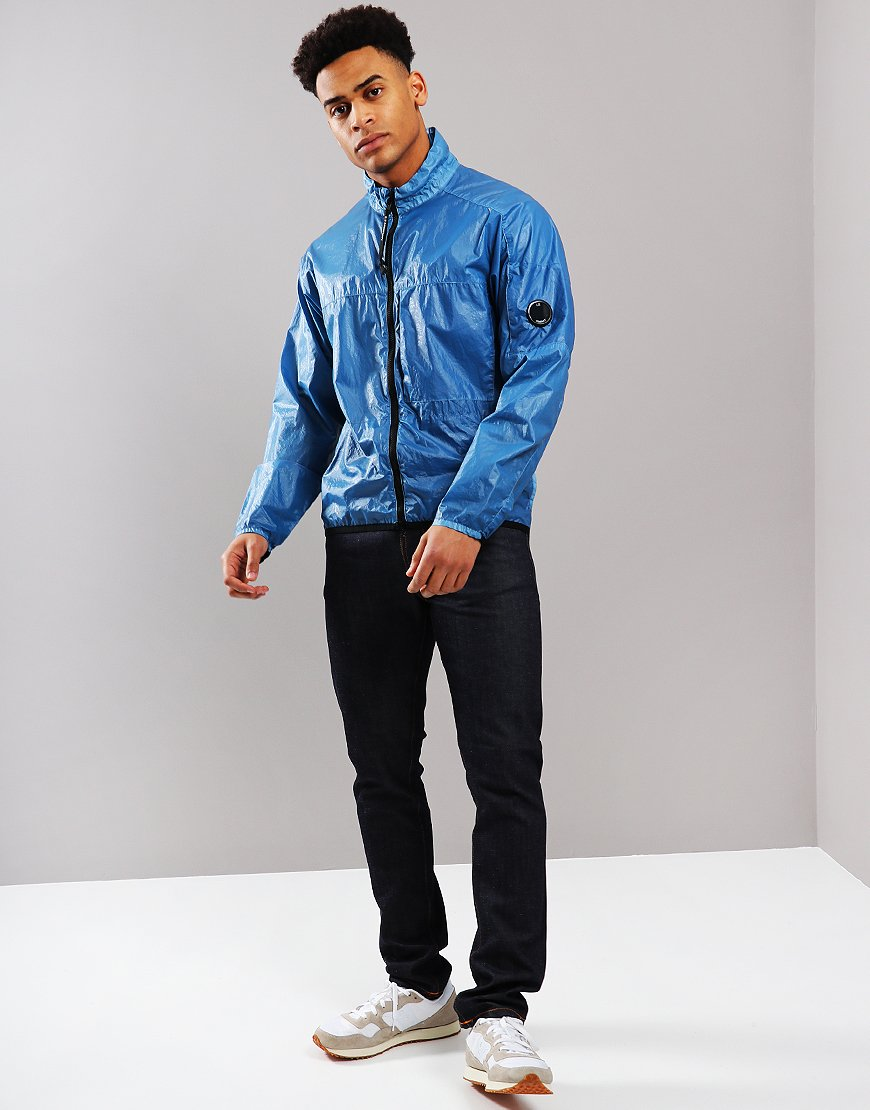 C.P. Company Cristal Lens Jacket Faded Denim