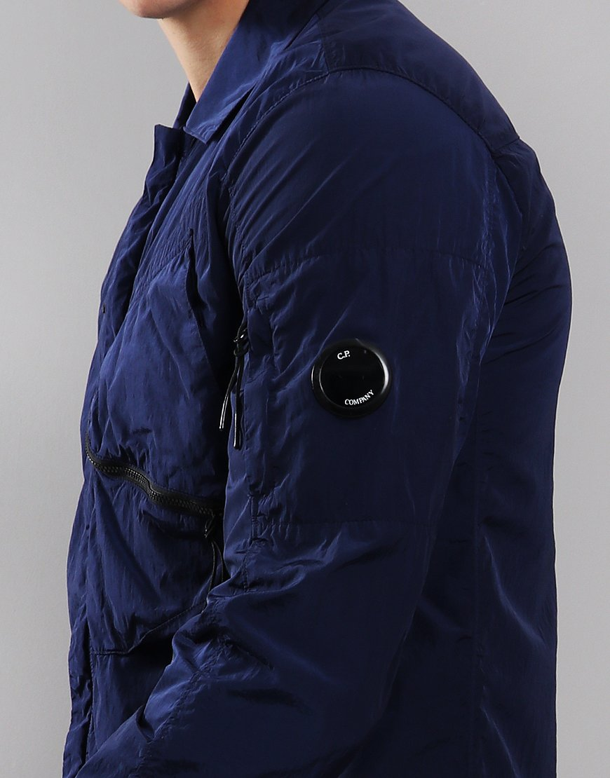 C.P. Company Chrome Lens Overshirt Estate Blue