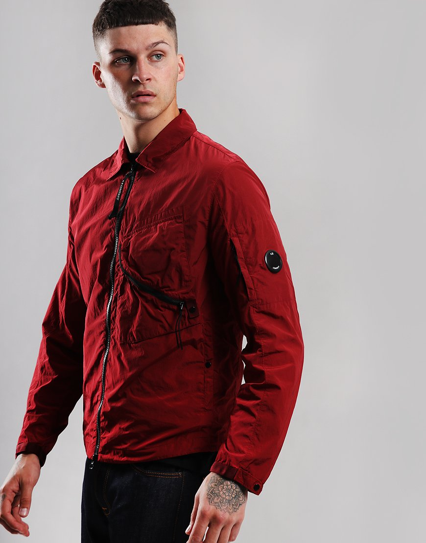 C.P. Company Chrome Overshirt Scooter Red
