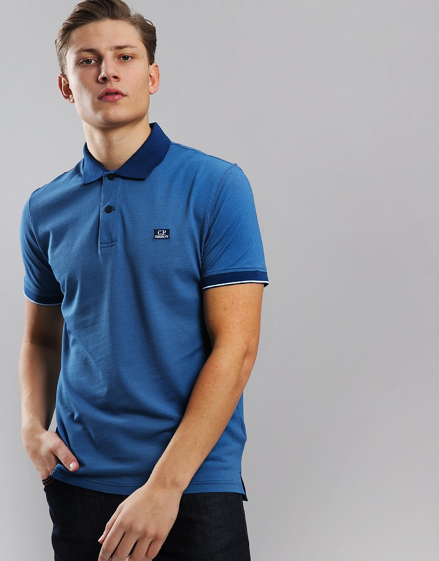C.P. Company Tacting Polo Shirt Moroccan Blue