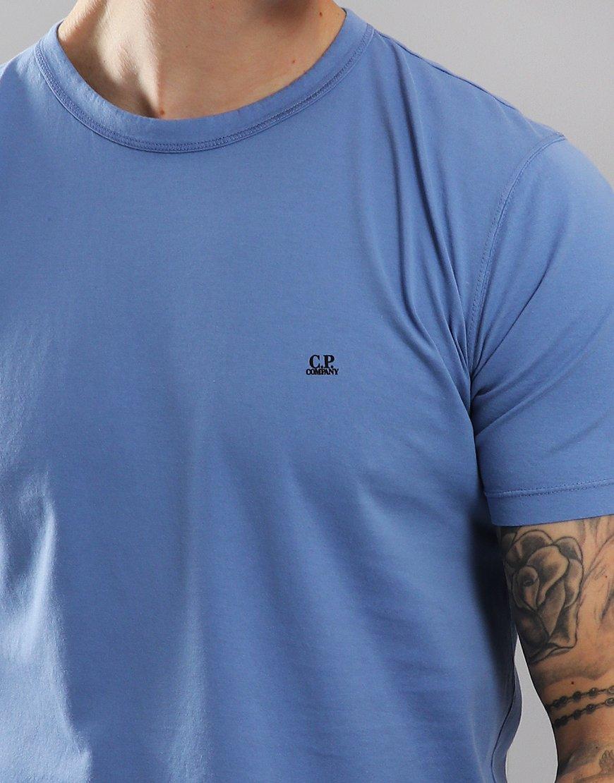 C.P. Company Mako Cotton T-shirt Dutch Blue