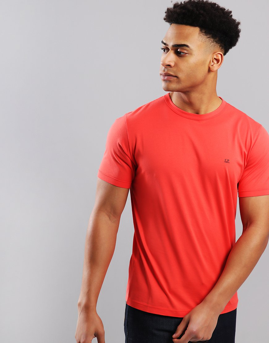 C.P. Company Mako Cotton T-Shirt High Risk Red