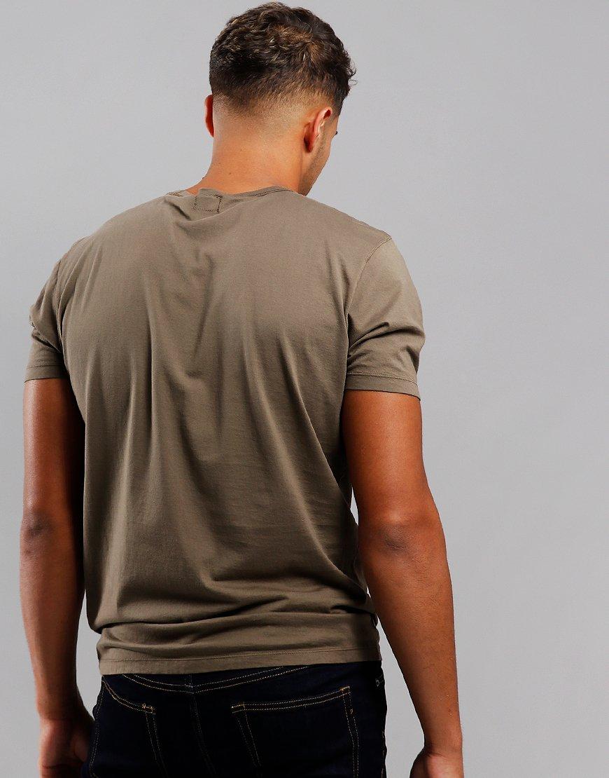 C.P. Company Mako Logo T-Shirt Dusty Olive
