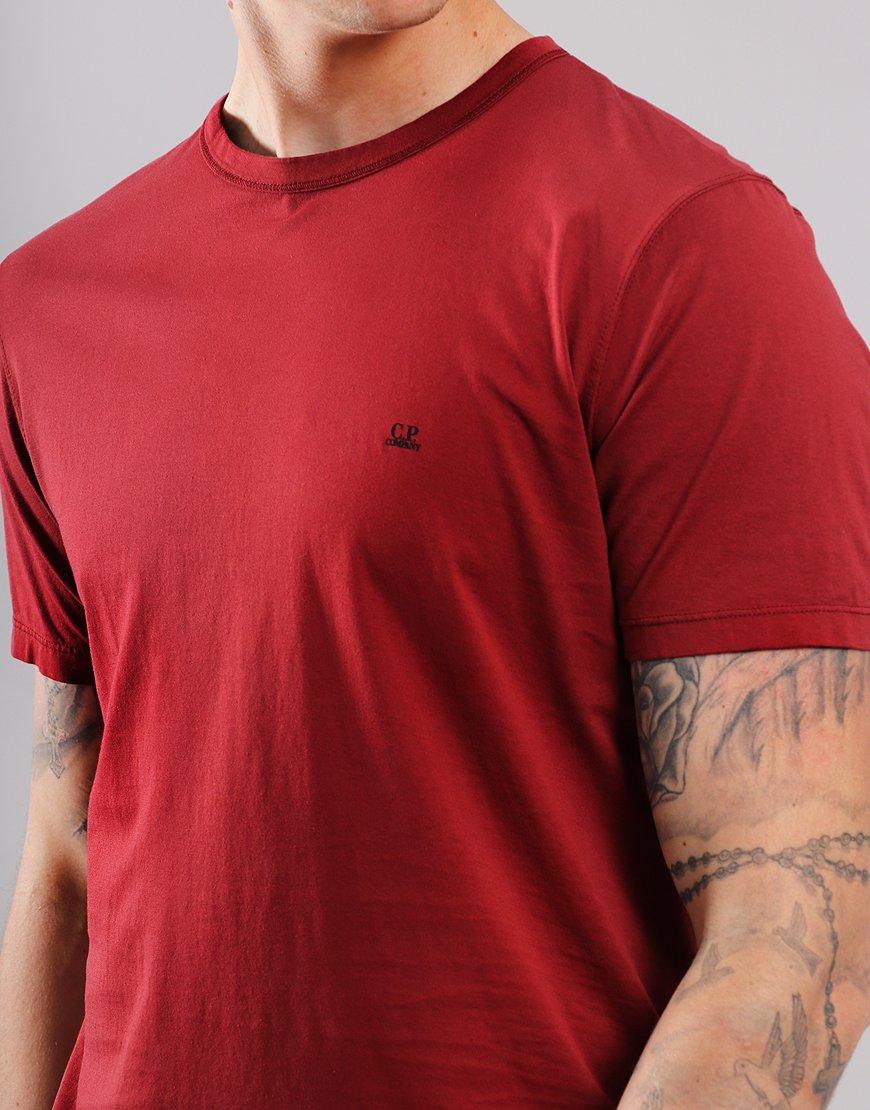 C.P. Company Mako Logo T-Shirt Scooter Red