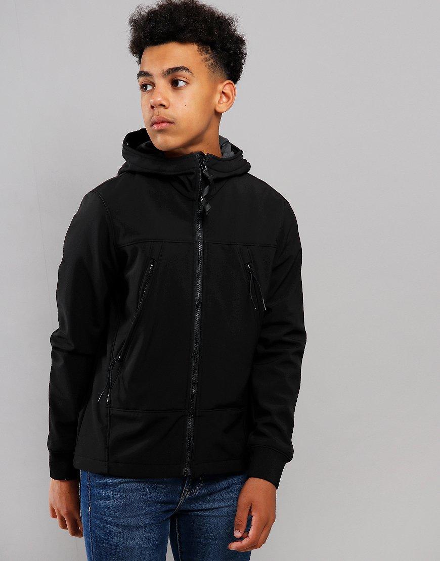C.P. Company Kids Goggle Soft Shell Jacket Black