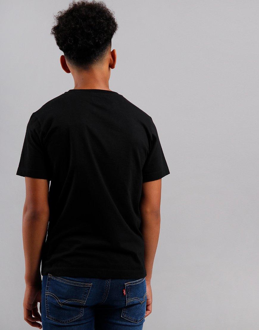 C.P. Company Kids Sailor Print Embroidered T-Shirt Black