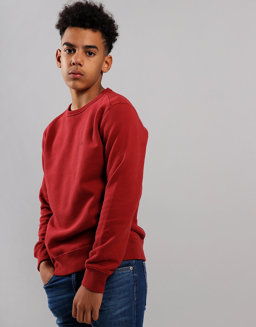 C.P. Company Kids Logo Print Crew Neck Sweat Scooter