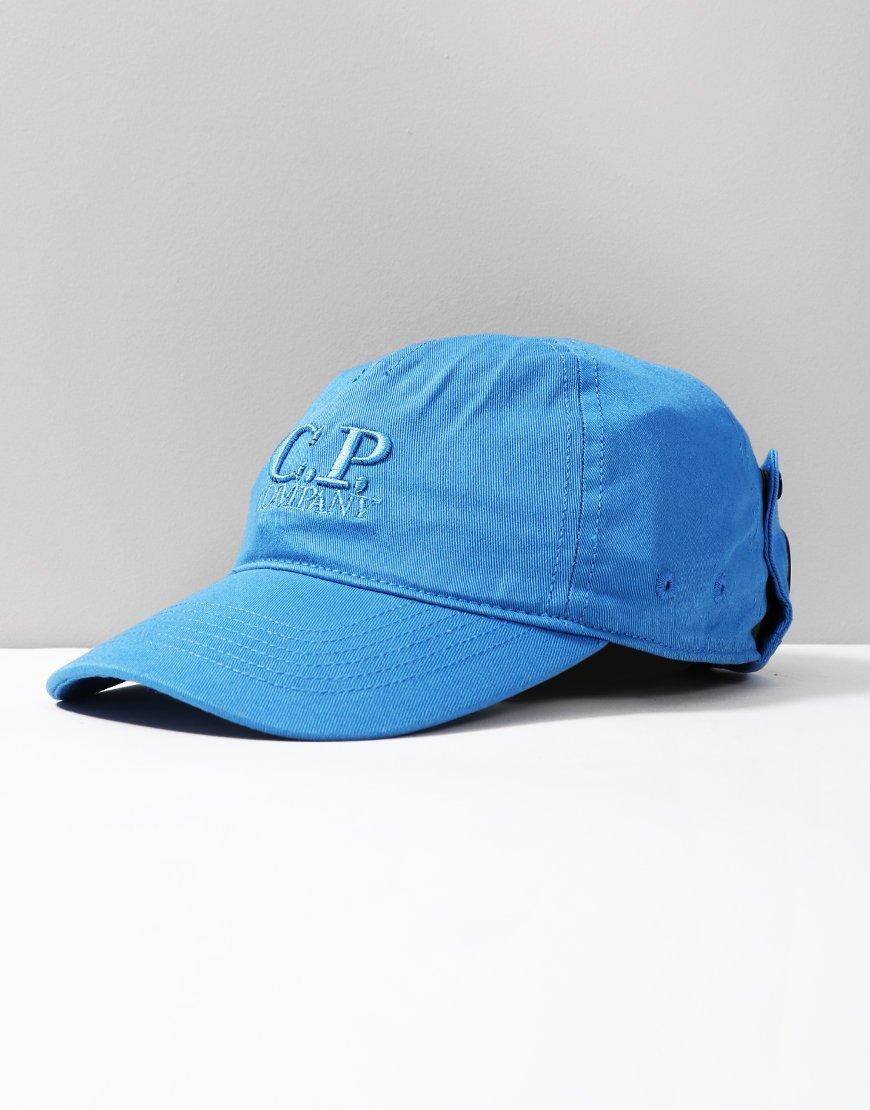 C.P. Company Kids Goggle Cap Imperial Blue