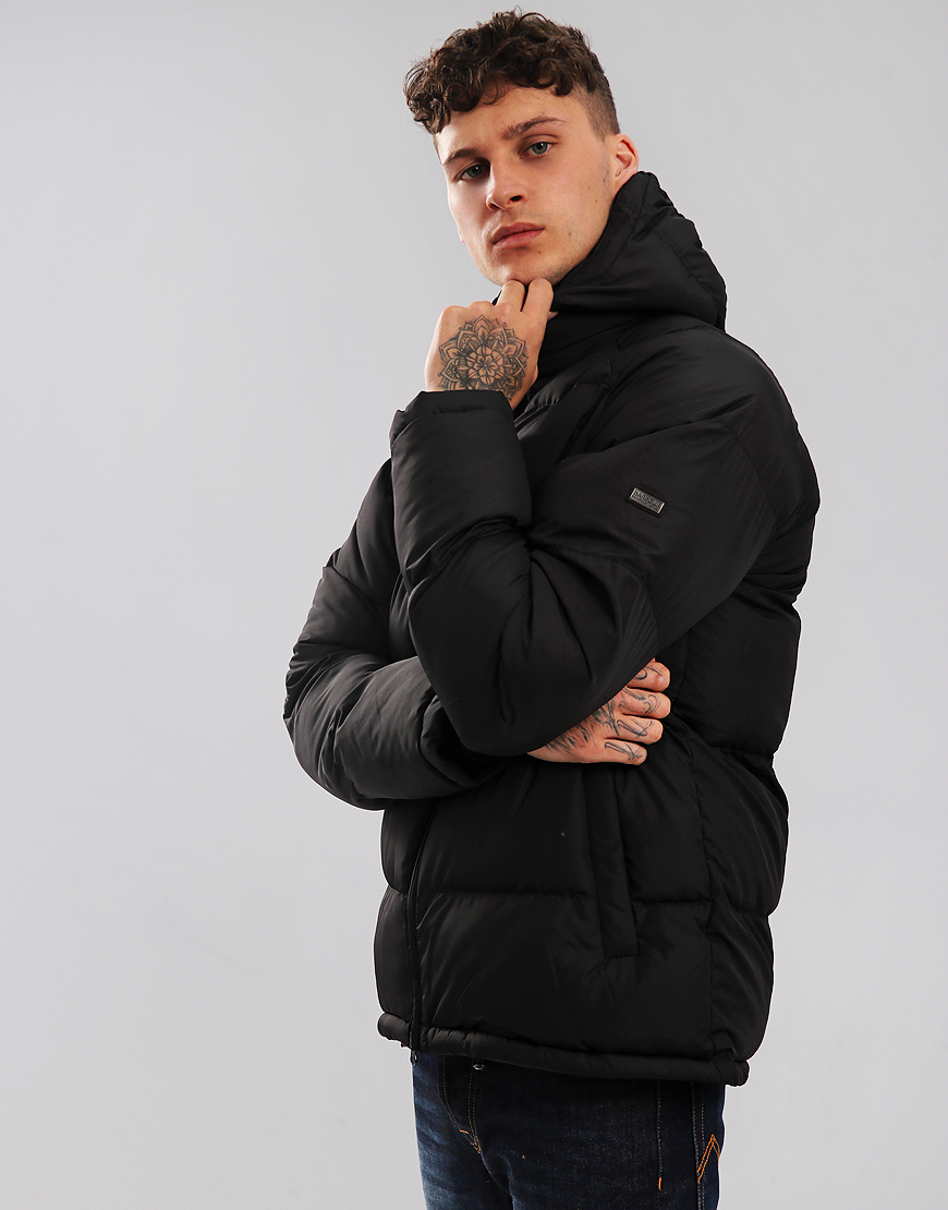 Barbour International Derny Quilted Jacket Black