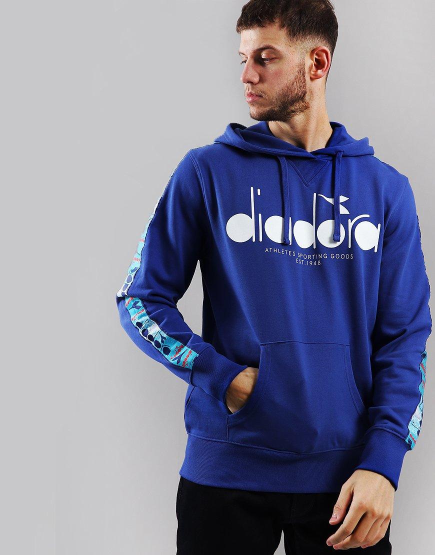 Diadora 5Palle Offside Hoodie Blue Ultramarine