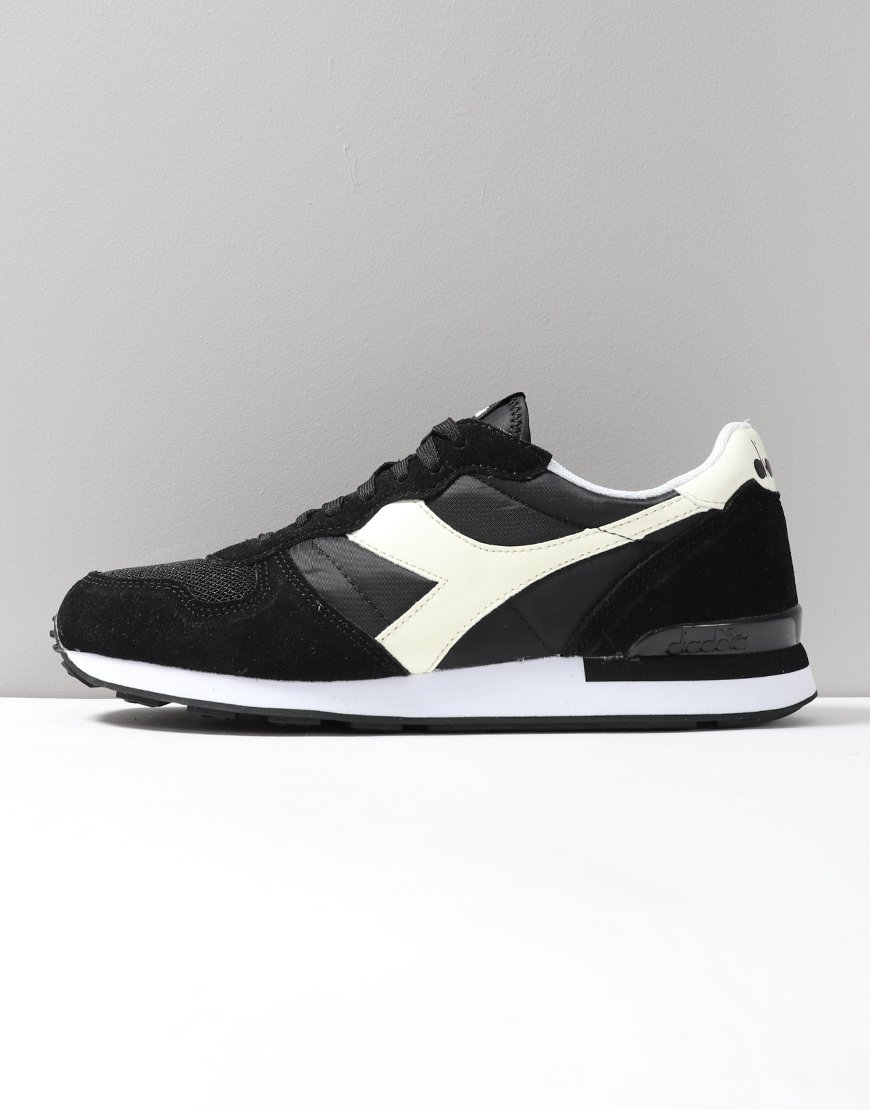 Diadora Camaro Trainers  Black/White