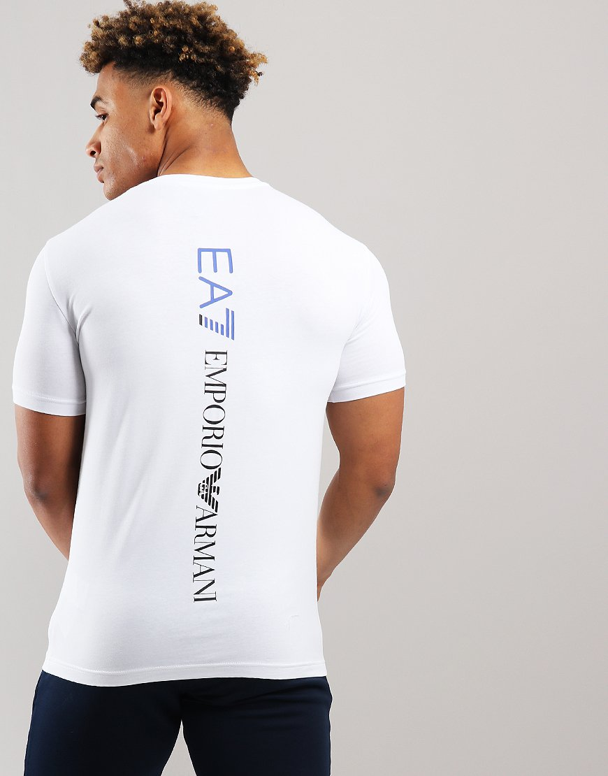 EA7 Front + Back Logo T-shirt White