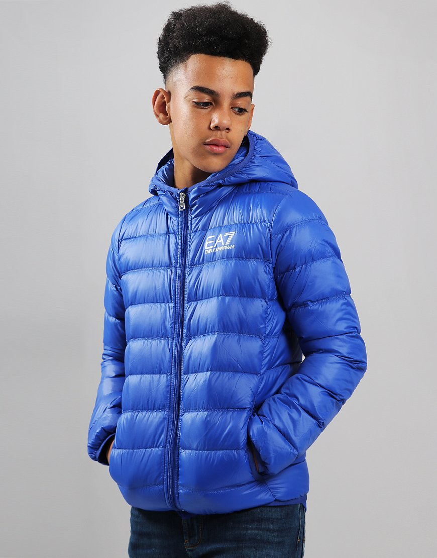 EA7 Emporio Armani Junior Padded Down Jacket Surf