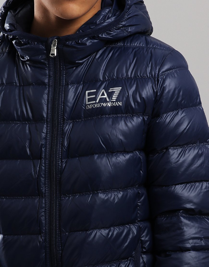 fbe5d4a3d3 EA7 Emporio Armani Junior Padded Down Jacket Navy