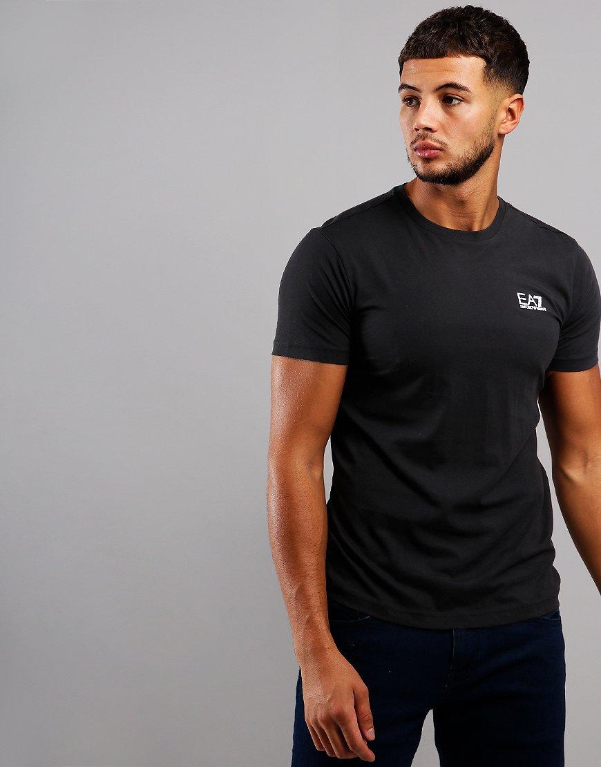 EA7 Small Logo T-Shirt Black