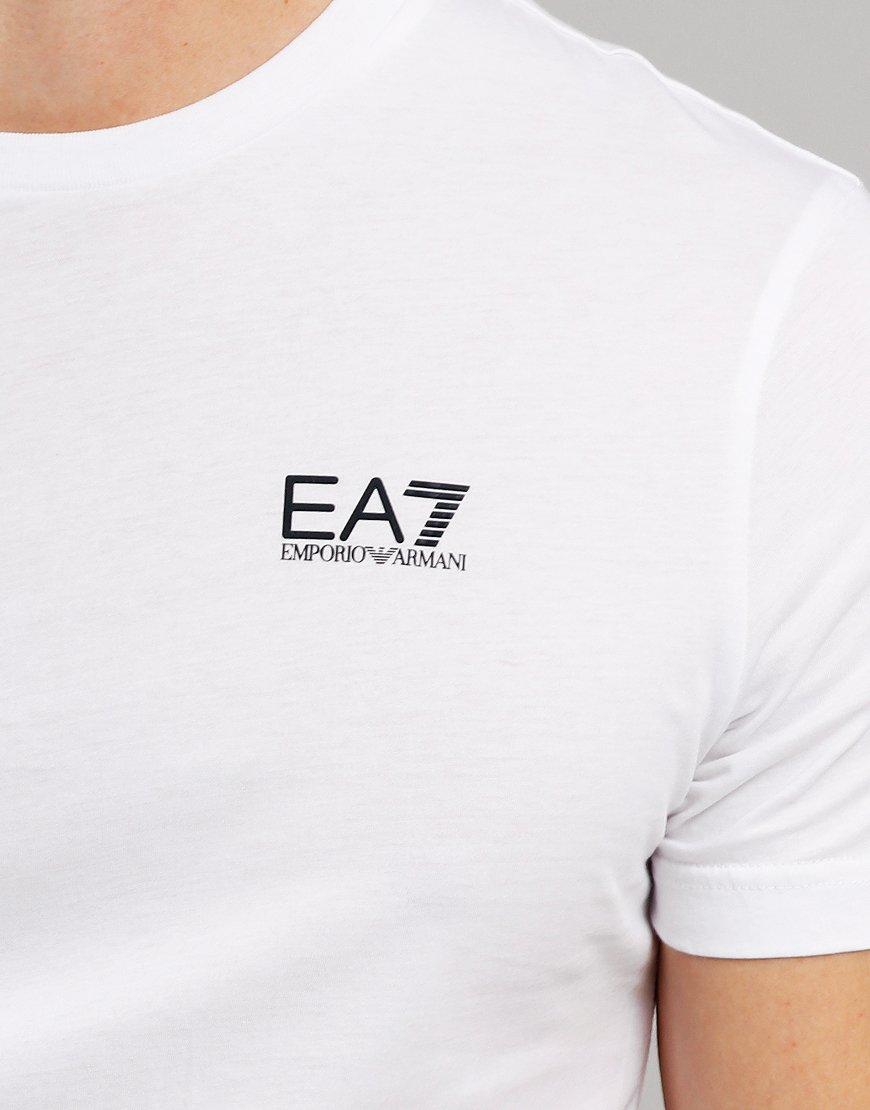 EA7 Small Logo T-Shirt White