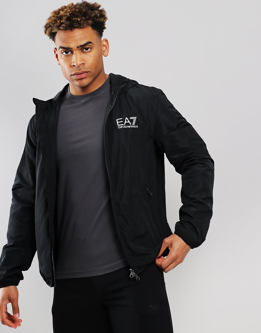 EA7 Windbreaker  Jacket Black