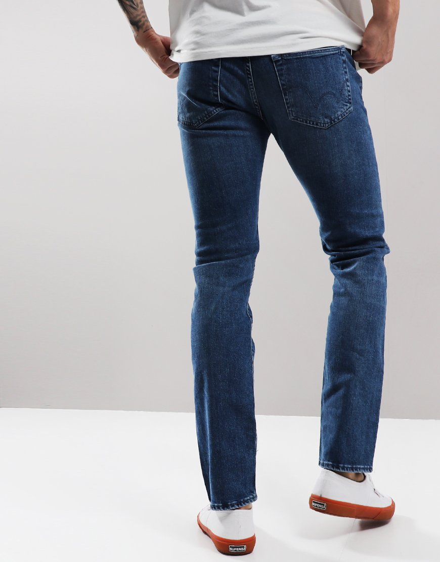 EDWIN ED-55 Regular Tapered Jeans Eastside Blue
