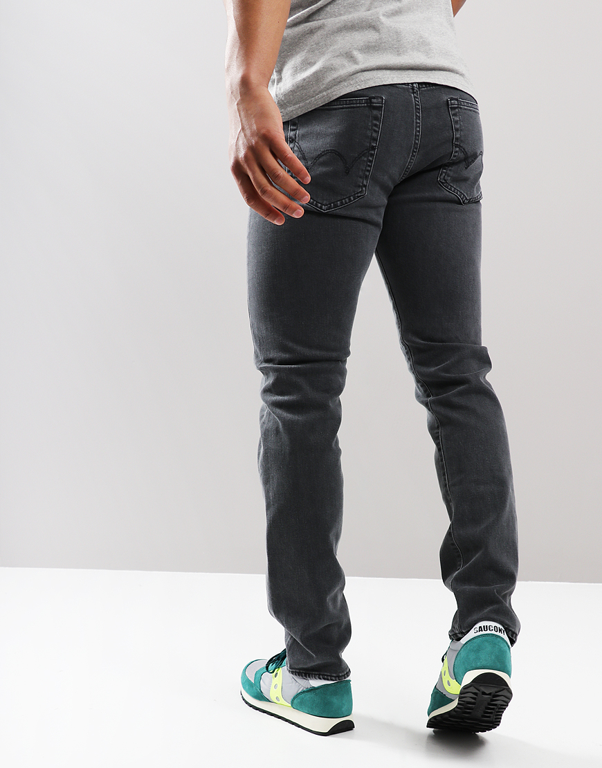 EDWIN ED-80 Bristol Slim Tapred Jeans CS Power Black