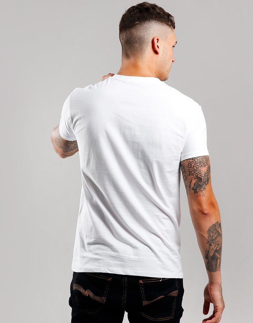 Eighties Casuals The Grim North T-Shirt White