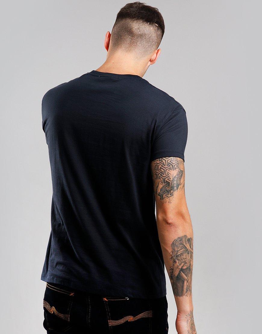 Eighties Casuals 90s Inner Circle T-Shirt Navy