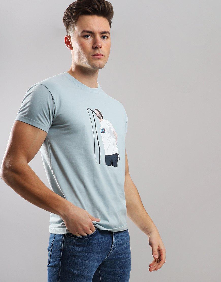 Eighties Casuals Liam T-Shirt Blue