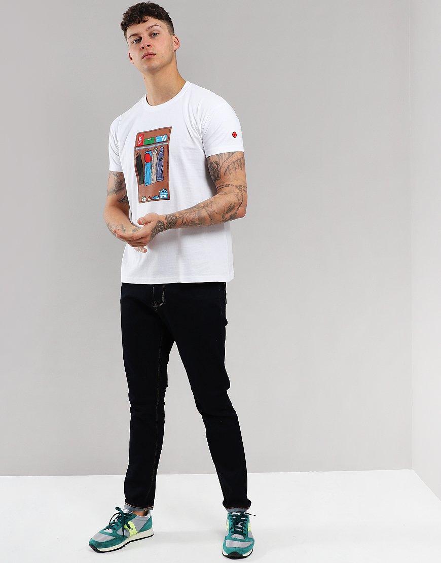 Eighties Casuals Wardrobe T-Shirt White