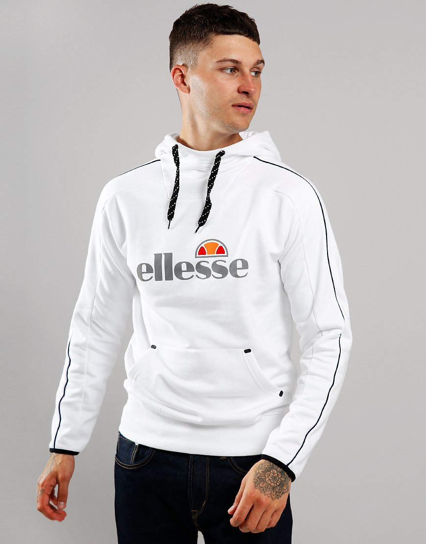 Ellesse Barreti Hooded Sweat White