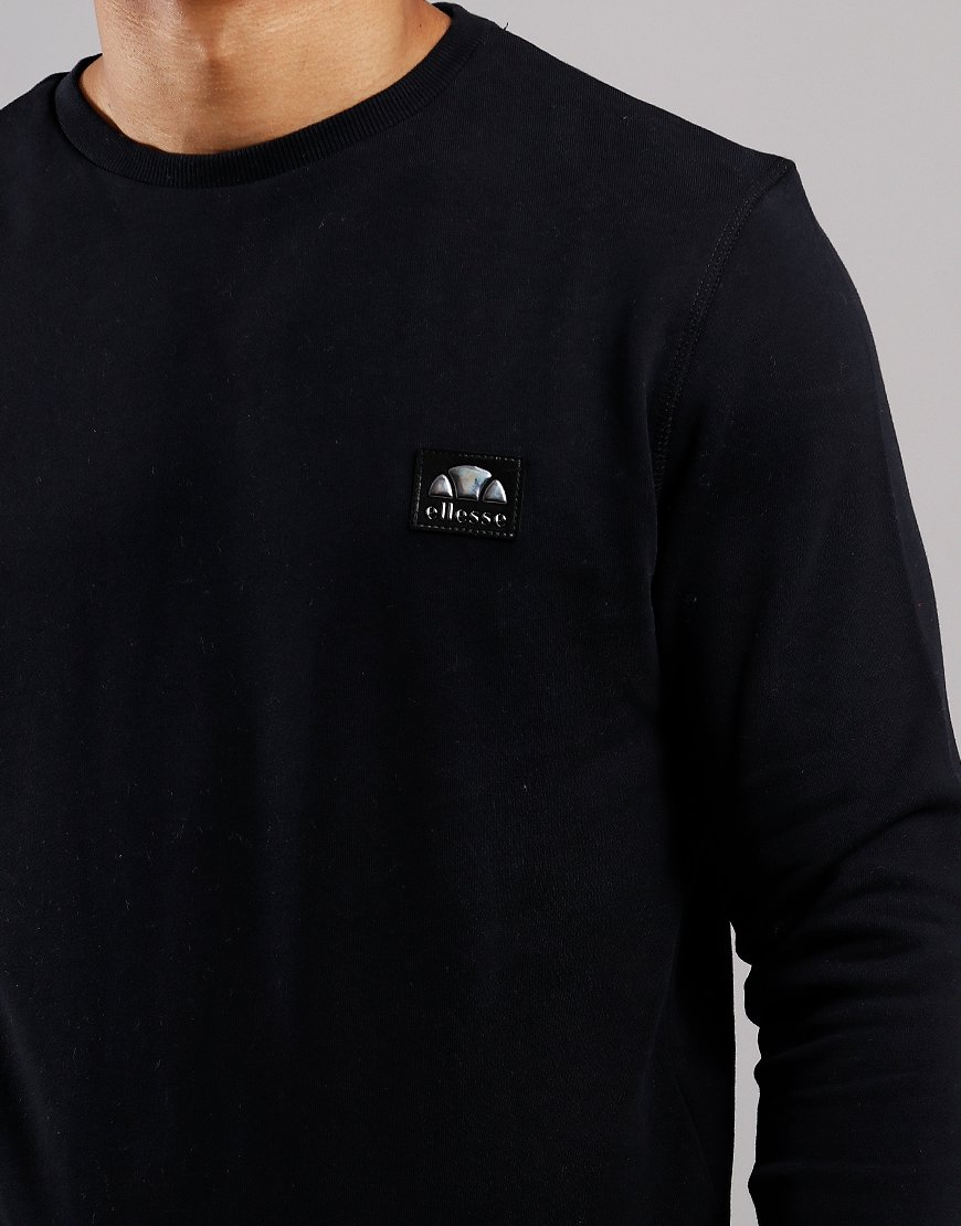 Ellesse Bufalino Crew Neck Sweat Black