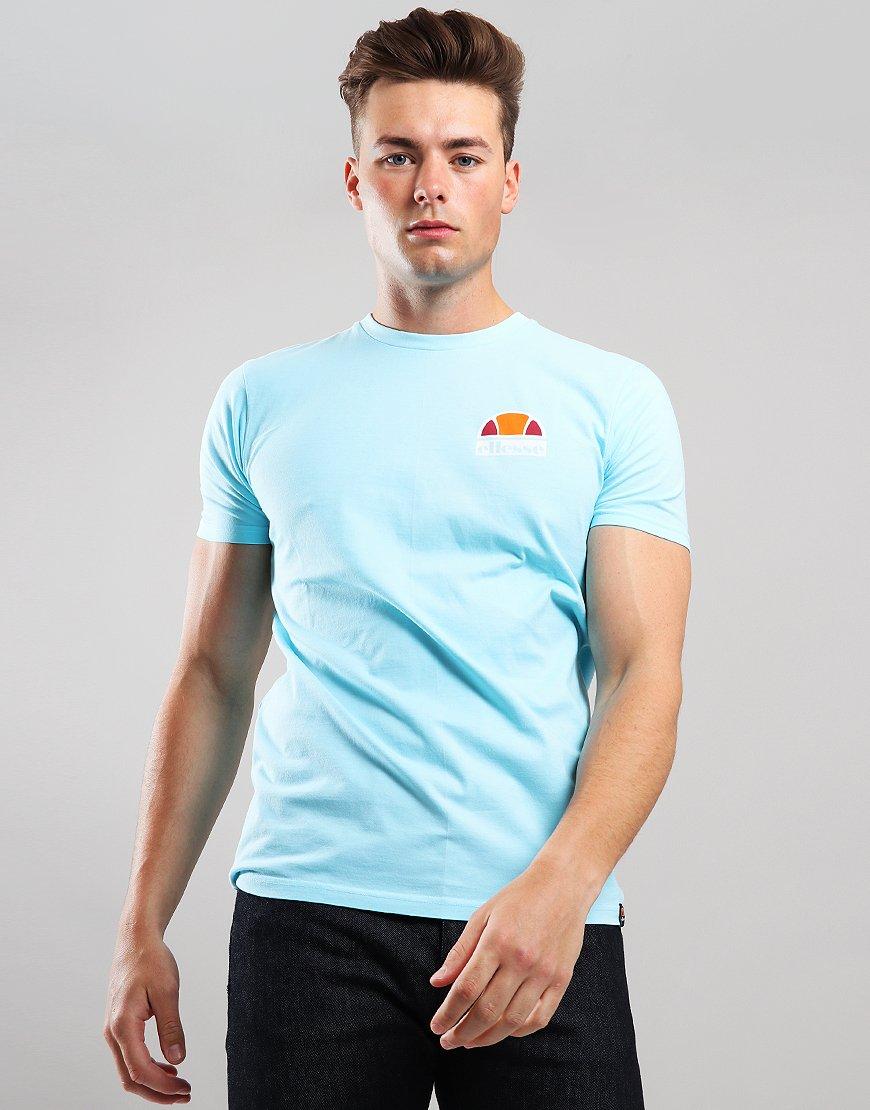 zniżki z fabryki niskie ceny buty do biegania Ellesse Cuba T-Shirt Neon Blue