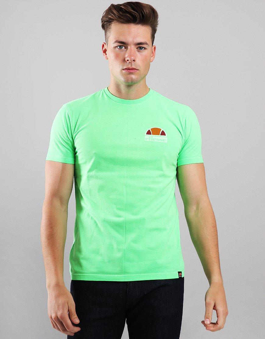 Ellesse Cuba T-Shirt  Neon Green