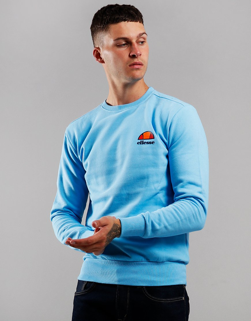 Ellesse Diveria Crew Neck Sweat Light Blue