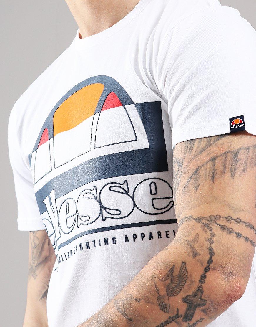 dd58bebd9 Ellesse Dybala T-Shirt White - Terraces Menswear