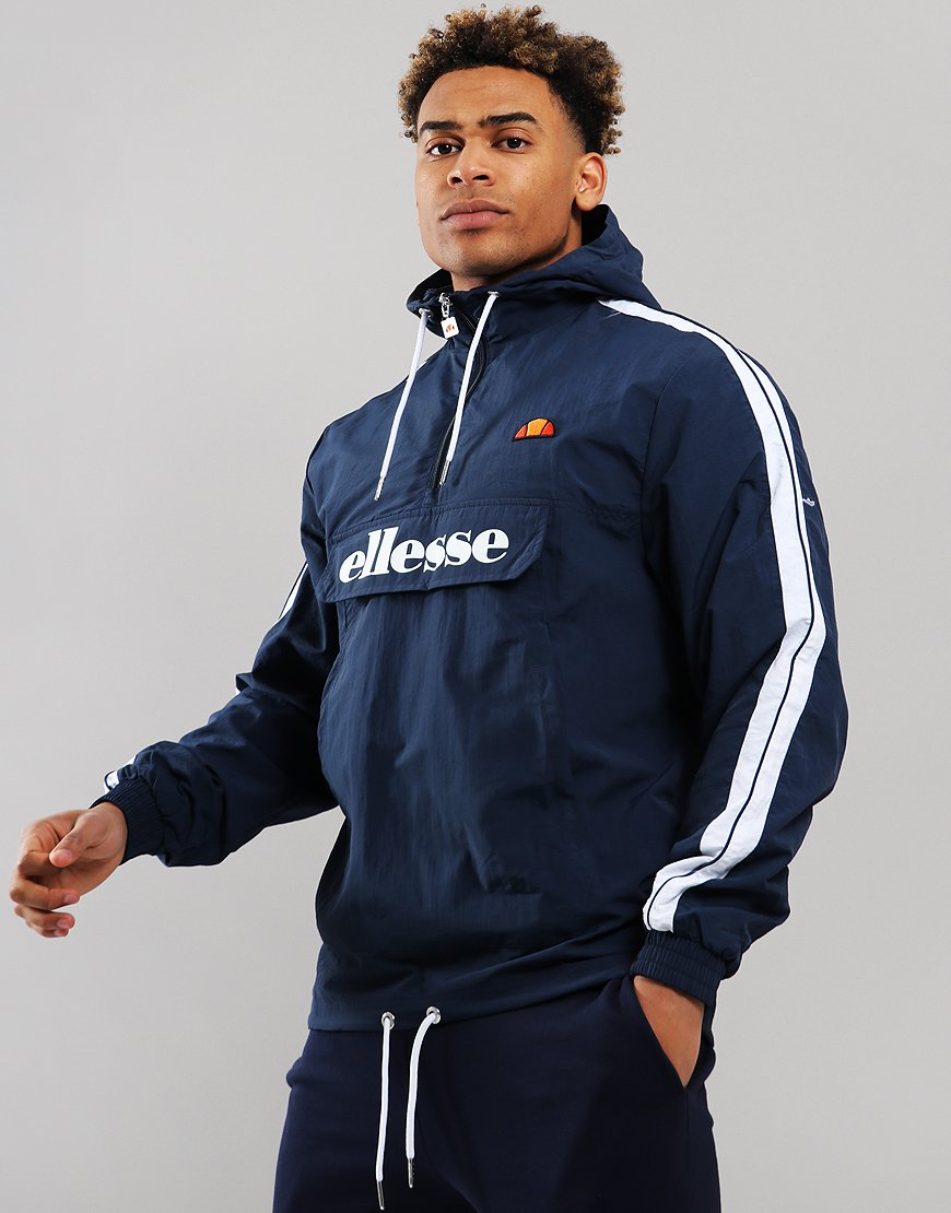 Ellesse Fighter 1/2 Zip Jacket Navy