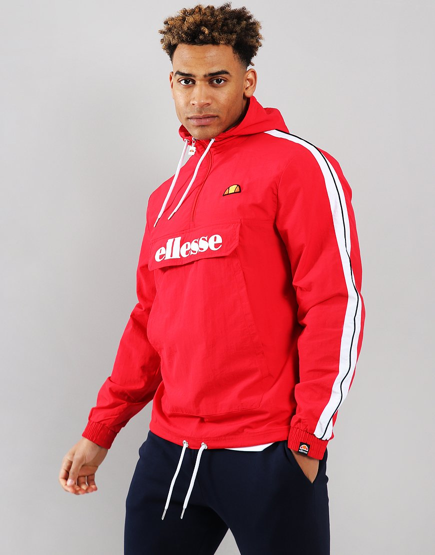 Ellesse Fighter 1/2 Zip Jacket Red