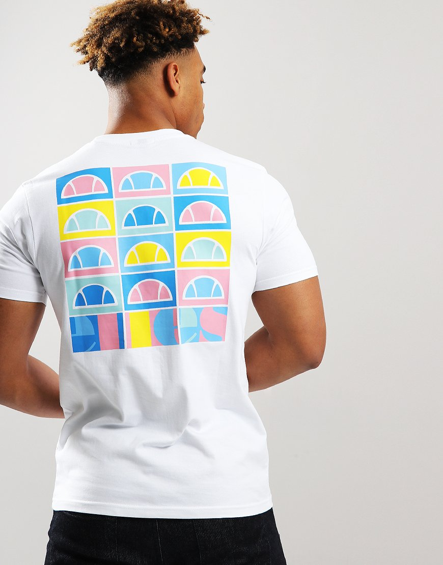 Ellesse Fondato Crew T-Shirt White