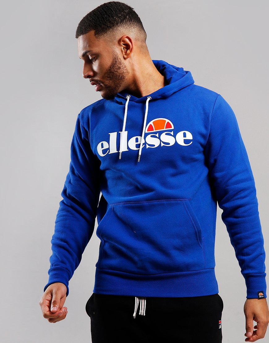 Ellesse Gottero Hooded Sweat Blue