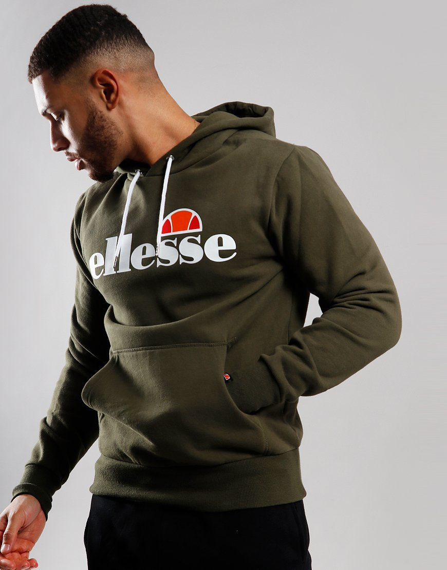 Ellesse Gottero Hooded Sweat Khaki