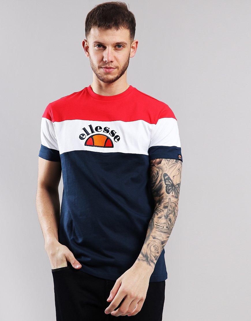 Ellesse Gubbio T-Shirt Navy