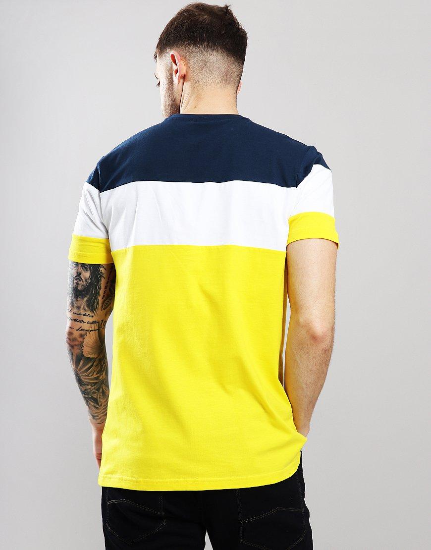96edffc389 Ellesse Gubbio T-Shirt Yellow