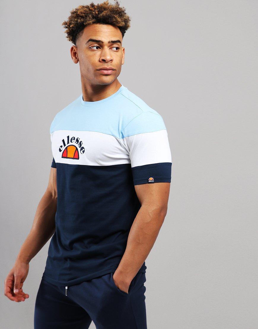 3a58d09074a846 Ellesse Juby T-Shirt Navy