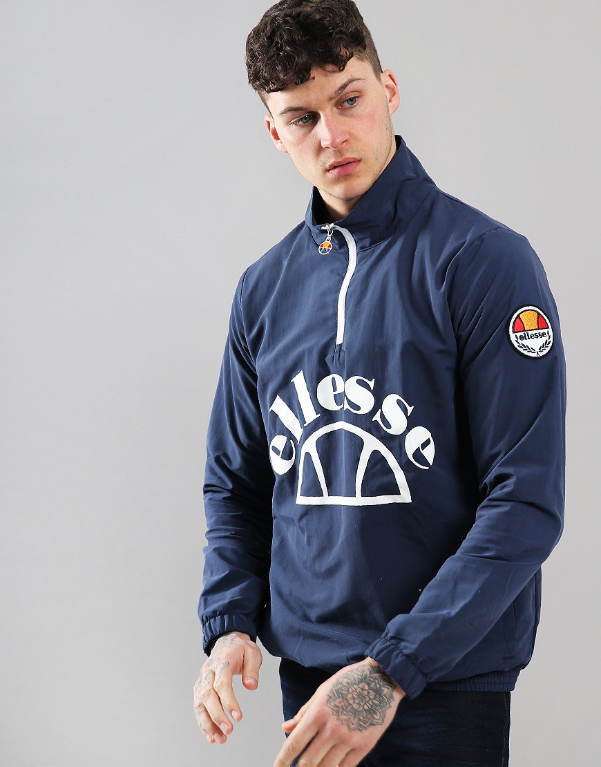 Ellesse Junio Zip Neck Jacket Navy