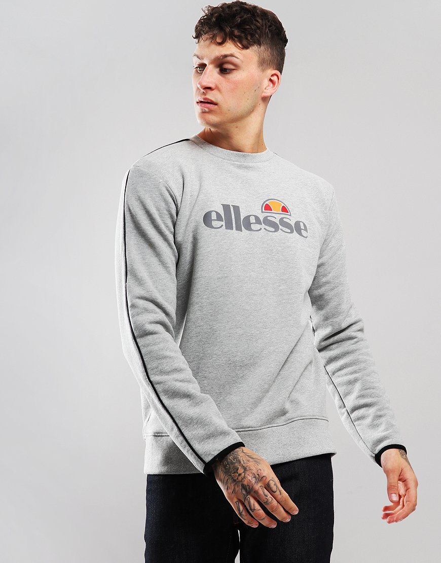 Ellesse Leeti Sweat Grey Marl