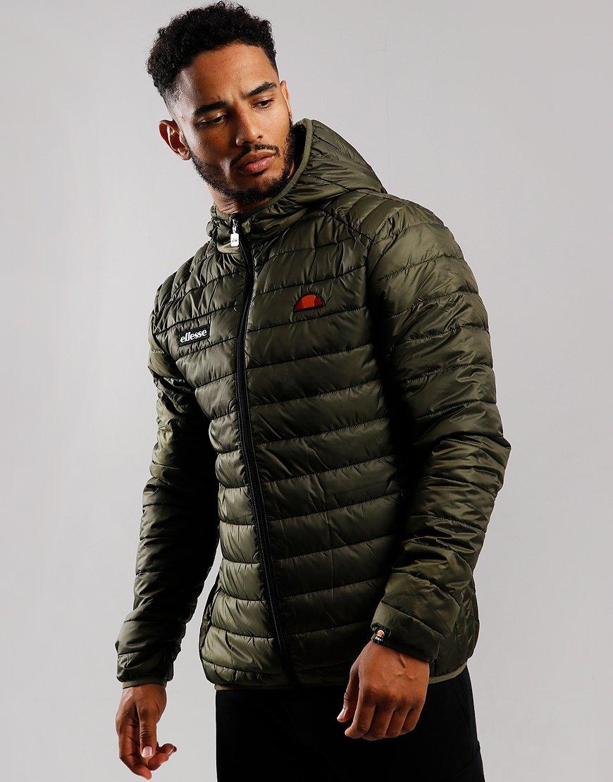 Ellesse Lombardy Padded Jacket Khaki